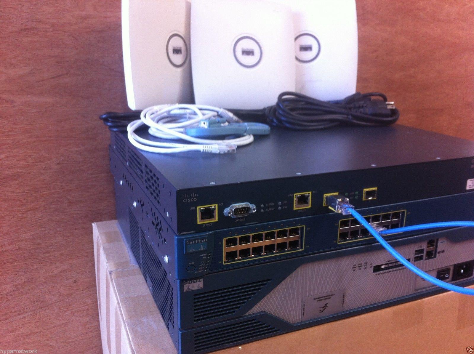 Cisco CCENT CCNA V3 0 WIRELESS LAB-KIT 640-722 IUWNE 1x 2821 IOS